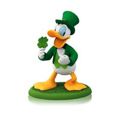 1 X A Year Of Disney Magic - Lucky Donald - 2014 Hallmark Keepsake Ornament >>> See this awesome image  : Ornaments Home Decor