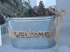 Decorated Chaos: Front Porch Winter Display With FREE Greenery