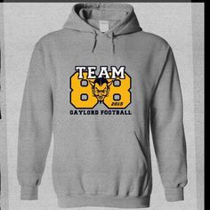 Gaylord Football TEAM88 - #housewarming gift #student gift. TAKE IT => https://www.sunfrog.com/Sports/Gaylord-Football-TEAM88-SportsGrey-58467677-Hoodie.html?68278