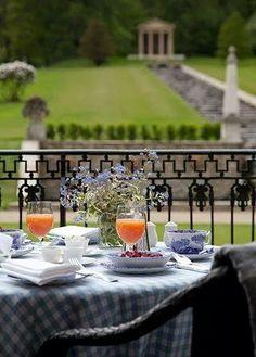 Breakfast on the Terace