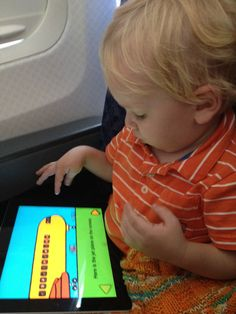 Apps for Traveling Toddlers- gotta remember this for October