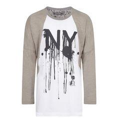 T-shirt Suzy, Wit