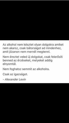 Az alkohol nem késztet dolgokra...♡