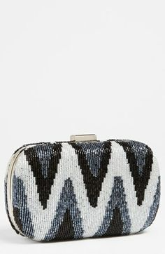Expressions NYC Beaded Minaudiere | Nordstrom