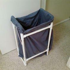 Laundry Basket pvc pipe