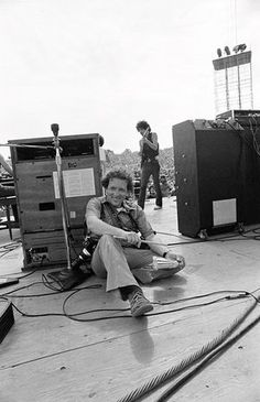 Baron WolmanPhotographer Baron Wolman is photographed by Bill Graham during the Woodstock Festival, Bethel, NY, August 1969.