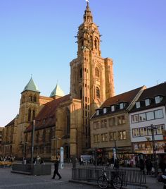 Town square, Heilbronn Germany ... just across the street from my hotel.