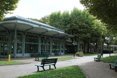 Vichy, le hall des Sources