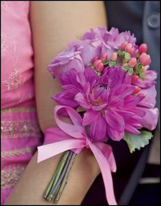 """Inspiration For A Purple & Pink Wedding   Created by Jaime From """"It's A Jaime Thing"""""""