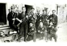 WWII Italian anarchists armed and organized to resist Mussolini's fascists and occupying Nazi forces.   #TuscanyAgriturismoGiratola