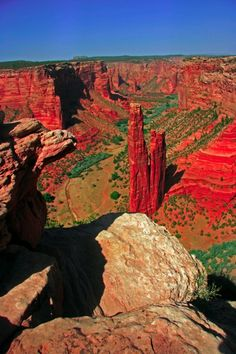 Spider rock. Chinle Arizona