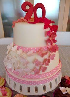 90thbirthdaycakesforwomen Pretty 90th Birthday Cake Cakes