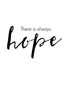 There is always hope printable wall art by BlossomBloomDesign