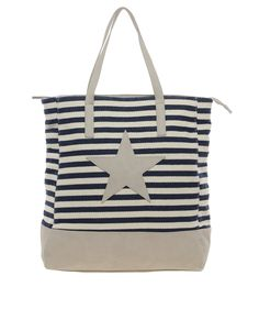 Canvas Star Shopper Bag #PruneForJune