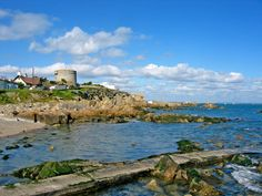 James Joyce Tower in Sandycove, just outside of Dublin