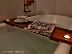 For Sarah-over a clawfoot tub! you can make that