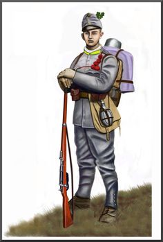 WW1 - Serbia: fall 1914 - Austro-Hungarian soldier by AndreaSilva60