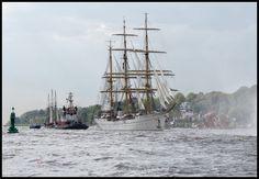 Gorch Fock in Hamburg