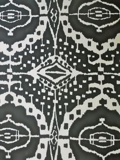 This ikat is so unusual. Love the detail in it.