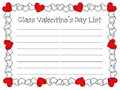 list of valentine's day activities