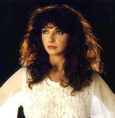 hair and artistic inspiration from Kate Bush
