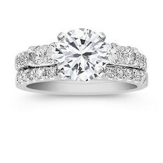 My wedding set from Shane Co. (except I will have 2 bands)