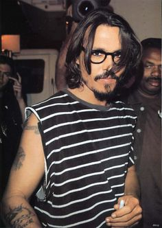 I do have a thing for Mr. Depp....  Think I'll watch Chocolate...