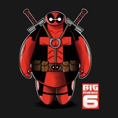 Baymax Deadpool T Shirt