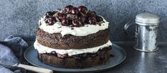 Kermit, Baked Goods, Cheesecake, Goodies, Baking, Desserts, Food, Cherries, Cheesecake Cake