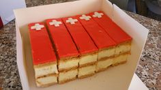 August 1st Swiss National Day ! Swiss National Day, Swiss Recipes, Lugano, Bake Sale, Homeland, Switzerland, Foodies, Drinks, Cooking