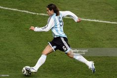 Fernando Gago (ARG) during the international friendly soccer match between France and Argentina.