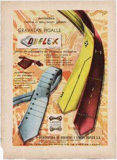 vintage necktie advertising