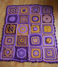 Ravelry: mlekokri's Crochet a block a month in 2013