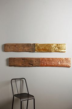 gilded grain wall sculpture #anthrofave