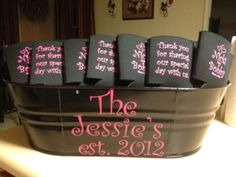Bin idea for our coozies