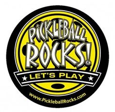 Back by Popular Demand: The Pickleball Rocks Car Magnets.  Now available at www.PickleballChristmas.com