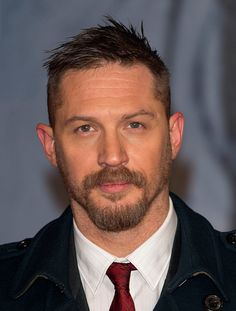 Tom Hardy attends UK Premiere of 'The Revenant' at Empire Leicester Square on January 14 2016 in London England