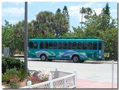 St Pete Beach trolley