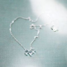 just the beginning  sterling silver necklace by elephantine, $36.00
