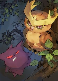 Oh my god, Gengar's face XD