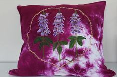 Linda Doyle Art - Floxglove Pillow Throw Pillows, Art, Art Background, Toss Pillows, Cushions, Kunst, Decorative Pillows, Performing Arts, Decor Pillows