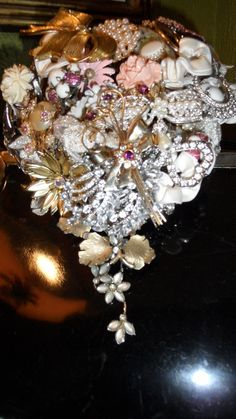 Home Of Original Brooch Bouquet by broochbouquets on Etsy, $275.00