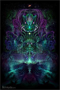 Huachuma by Justin Totemical - Threyda Art and Apparel