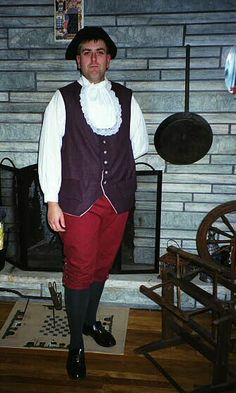 1812 1775 war costumes slops colonial waistcoat clothing catalog fall front breeches linen or wool: $100; shirt (muslin) $50;