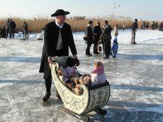 Winter in Hindeloopen , The Netherlands #Friesland #Hindeloopen