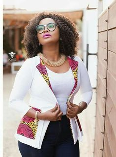 Classic african print ankara jackets for beautiful ladies, beautiful but simple ankara jacket styles with ankara print and designs African Dresses For Women, African Print Dresses, African Attire, African Fashion Dresses, African Wear, African Women, African Prints, African Clothes, Ankara Fashion