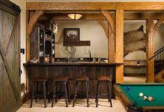 Finished Basement Bar Pictures - Bing Images