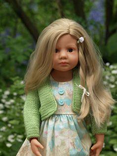 """Senta"" Götz Happy Kidz Luisa Photo Petra J. Gotz Dolls, 18 Inch Doll, American Girl, Doll Clothes, Art Deco, Disney Princess, Knitting, Petra, Disney Characters"