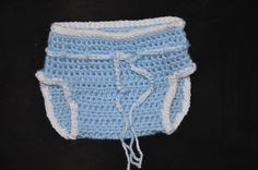 crochet baby diaper cover