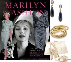 """""""Marilyn in Fashion"""" by edythe-hamilton ❤ liked on Polyvore"""